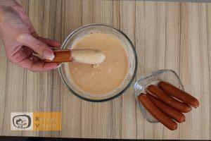 Virsli polipok recept, virsli polipok elkészítése 3. lépés