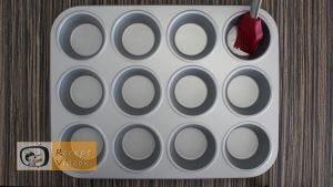 Tojás muffinok recept, tojás muffinok elkészítése 5. lépés