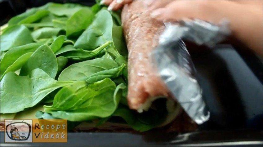 Bacon rolád recept, bacon rolád elkészítése 5. lépés