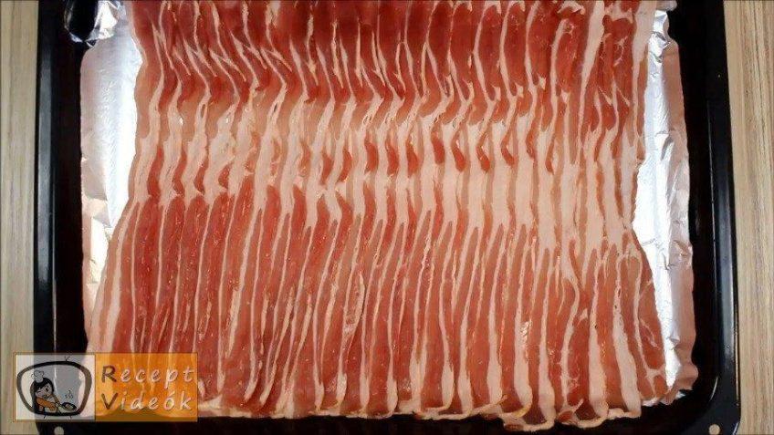 Bacon rolád recept, bacon rolád elkészítése 6. lépés