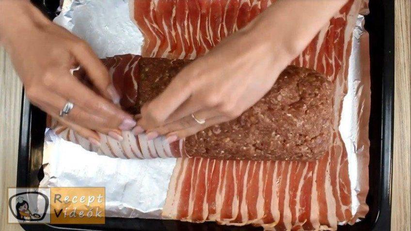 Bacon rolád recept, bacon rolád elkészítése 7. lépés
