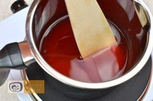 Málnás parfé recept, málnás parfé elkészítése 3. lépés