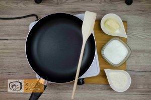 Besameles szendvicstorta recept, besameles szendvicstorta elkészítése 1. lépés