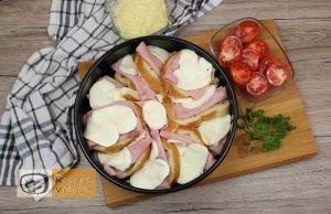 Besameles szendvicstorta recept, besameles szendvicstorta elkészítése 6. lépés