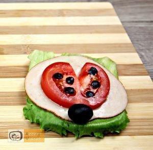 Katica szendvics recept, katica szendvics készítése 4. lépés