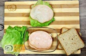 Katica szendvics recept, katica szendvics készítése 2. lépés