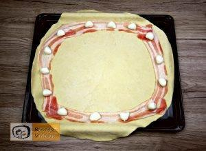 Flóra pizzája recept, Flóra pizzája elkészítése 1. lépés