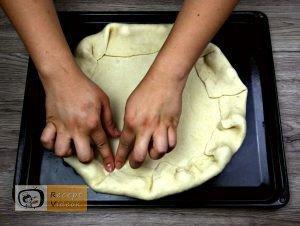Flóra pizzája recept, Flóra pizzája elkészítése 2. lépés
