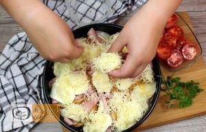 Besameles szendvicstorta recept, besameles szendvicstorta elkészítése 8. lépés
