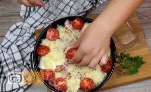Besameles szendvicstorta recept, besameles szendvicstorta elkészítés 9. lépés