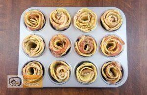 Krumplirózsák baconnel recept, krumplirózsák baconnel elkészítése 4. lépés