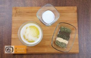 Krumplirózsák baconnel recept, krumplirózsák baconnel elkészítése 1. lépés
