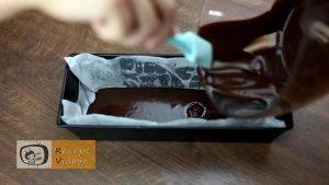 Csokis brownie recept, csokis brownie elkészítése 2. lépés