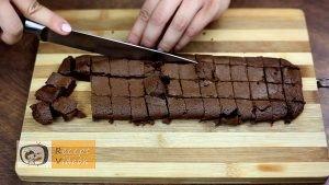 Csokis brownie recept, csokis brownie elkészítése 3. lépés