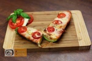 Cukkini pizza recept, cukkini pizza elkészítése - Recept Videók