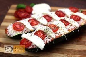 Cukkini pizza recept, cukkini pizza elkészítése 4. lépés