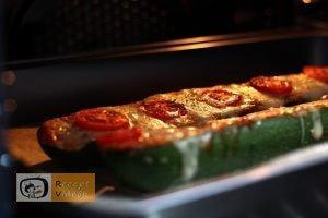 Cukkini pizza recept, cukkini pizza elkészítése 5. lépés