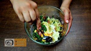 Héjában sült töltött krumpli recept elkészítése 3. lépés