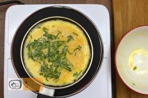 Maci omlett recept, maci omlett elkészítése 4. lépés