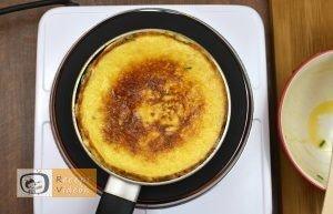Maci omlett recept, maci omlett elkészítése 5. lépés