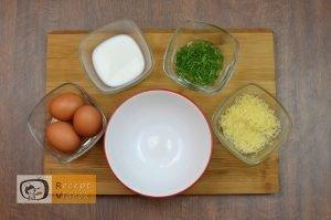 Maci omlett recept, maci omlett elkészítése 1. lépés