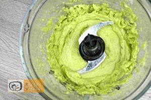 Avokádó fagyi recept, avokádó fagyi elkészítése 3. lépés
