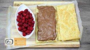 Málnás csokis süti recept, málnás csokis süti készítése 7. lépés