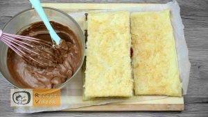 Málnás csokis süti recept, málnás csokis süti készítése 9. lépés