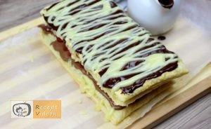Málnás csokis süti recept, málnás csokis süti készítése 11. lépés
