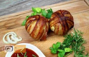 Baconös húsgolyó recept, baconös húsgolyó elkészítése - Recept Videók