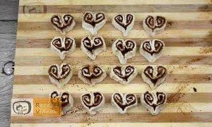 Fahéjas szívek recept, fahéjas szívek elkészítése 7. lépés