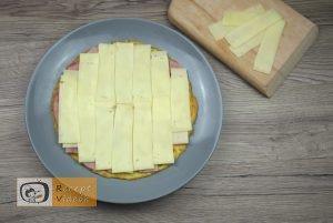 Csiga tojástekercsből recept, csiga tojástekercsből elkészítése 4. lépés