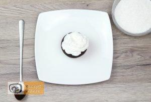 Panda muffin recept, panda muffin elkészítése 4. lépés