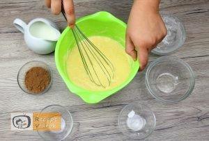 Maci palacsinta recept, maci palacsinta elkészítése 1. lépés