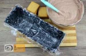 Kekszes jégkrémtorta recept, kekszes jégkrémtorta elkészítése 4. lépés