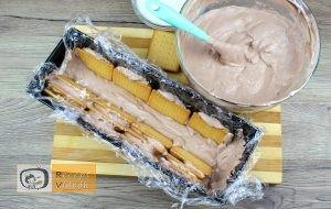 Kekszes jégkrémtorta recept, kekszes jégkrémtorta elkészítése 8. lépés