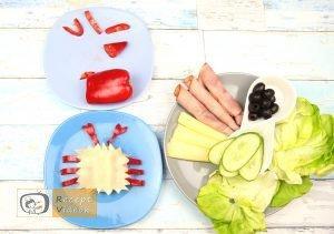 Szendvics rákok recept, szendvics rákok elkészítése 3. lépés