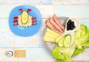 Szendvics rákok recept, szendvics rákok elkészítése 4. lépés