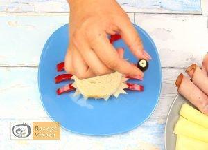 Szendvics rákok recept, szendvics rákok elkészítése 5. lépés