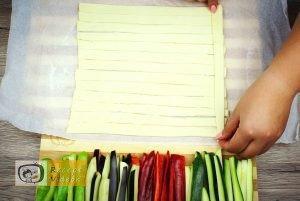 Zöldséges pite recept, zöldséges pite elkészítése 2. lépés
