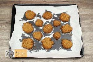 Mogyoróvajas keksz recept, mogyoróvajas keksz elkészítése 3. lépés