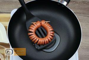 Virsli margaréták recept, virsli margaréták elkészítése 4. lépés