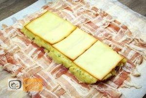 Baconbe tekert krumpli rolád recept elkészítése 10. lépés