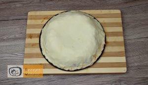 Pizza koszorú recept, pizza koszorú elkészítése 5. lépés