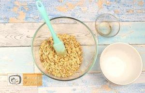 Joghurtkrémes zabkehely recept, joghurtkrémes zabkehely elkészítése 2. lépés