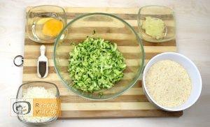Sajtos cukkinigolyó recept, sajtos cukkinigolyó elkészítése 3. lépés