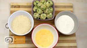 Sajtos cukkinigolyó recept, sajtos cukkinigolyó elkészítése 5. lépés
