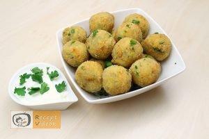 Sajtos cukkinigolyó recept, sajtos cukkinigolyó elkészítése - Recept Videók