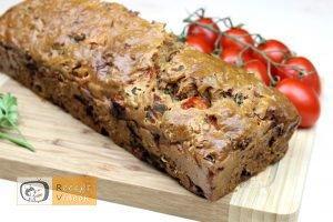 Rusztikus mediterrán kenyér recept, rusztikus mediterrán kenyér elkészítése - Recept Videók