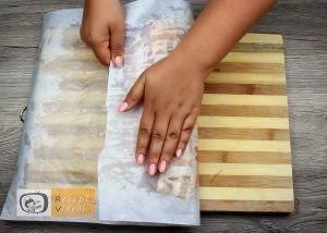 Baconbe tekert krumpli rolád recept elkészítése 18. lépés